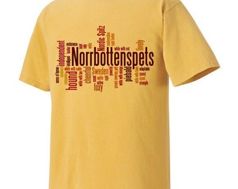 Norrbottenspets Garment Dyed Cotton T-shirt