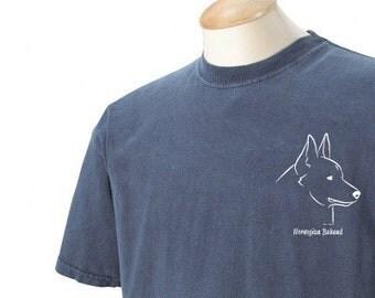 Norwegian Buhund Garment Dyed Cotton T-shirt