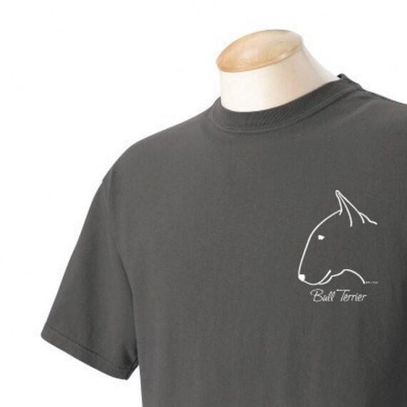 Bull Terrier Garment Dyed Cotton T-shirt
