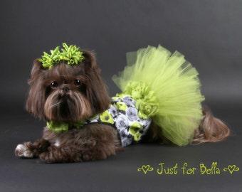 SAMPLE SALE:  Sophisticated Party Tutu Dog Dress