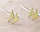 the Double Triangle Earring