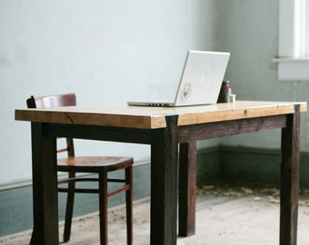Dovetail Work Table - Modern Industrial Desk