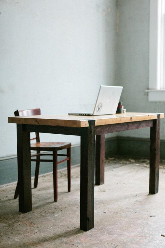 Dovetail Work Table - Modern Industrial Desk