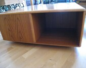 Mid Century Danish Modern Library coffee table with storage