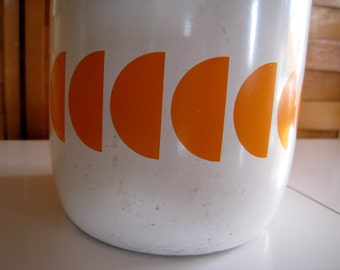 Vintage CO2 bottle for sodas and cocktails  enamelware
