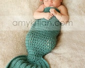 Crochet Mermaid Photography Prop