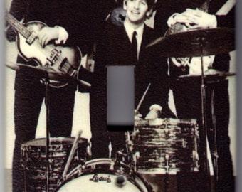 Beatles Music Switchplate Cover - Single Jumbo size (317)