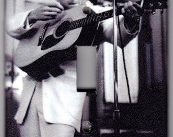 "Johnny Cash ""I Walk The Line"" Switchplate Cover - Single Jumbo size (334)"