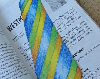 Father's Day Tie Bookmark/Gift Decoration