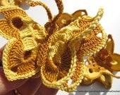 Crochet Butterfly PATTERN-3d Butterflies-Crochet Cozy Spring Decorations-DIY Crafts-Crochet Butterfly Art-Instant Download PDF Pattern No.16