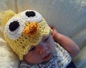 Crochet Baby Chick Hat Newborn Easter Beanie Baby Duck Hat Accessories