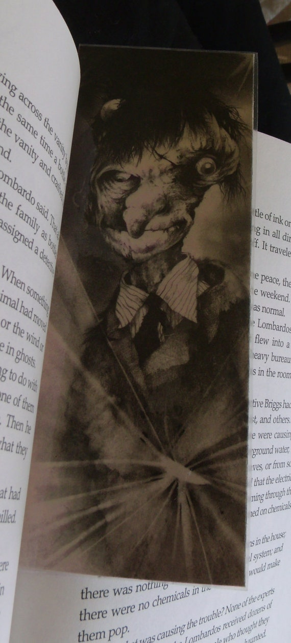 Scary Stories 3 Bookmark-Clearance