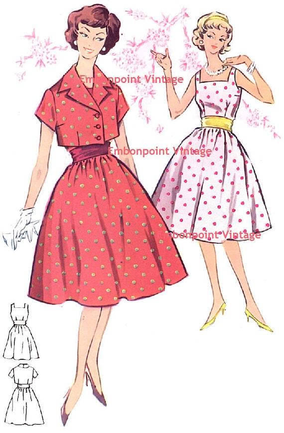 Plus Size (or any size) Vintage 1950s Suit Pattern - PDF - Pattern No 23 24: Margaret
