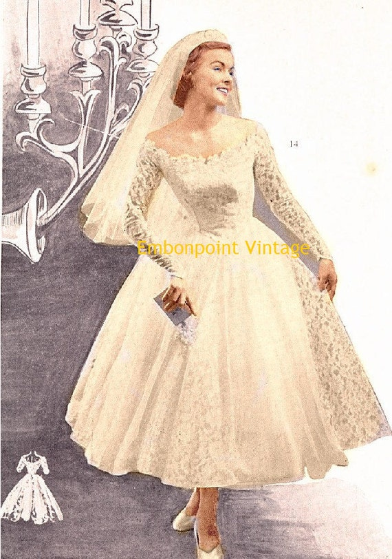 Plus Size Or Any Size Vintage 1949 Wedding By