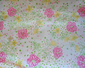 THE GOOD LIFE  cotton 18 X 18 inches  ~Lilly Pulitzer~