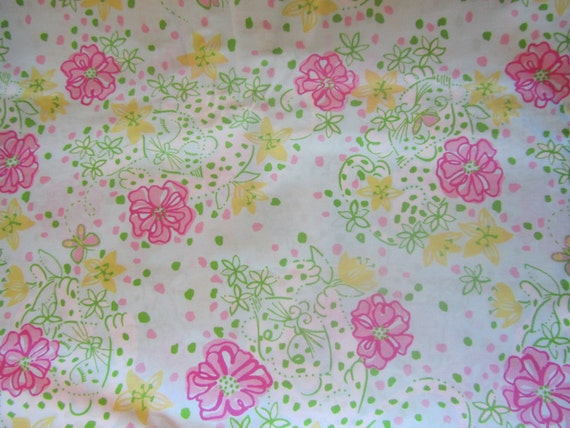 Authentic Lilly Pulitzer fabric The Good Life 18 X 18 inches