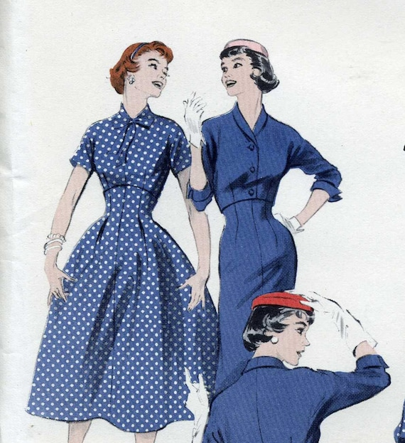 Butterick 7117, Bombshell, Empire Skirt pattern, Blouse Pattern, Jacket Pattern, Rockabilly Wardrobe in One Pattern