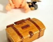 Wade Vintage Porcelain Treasure Chest Trinket Box