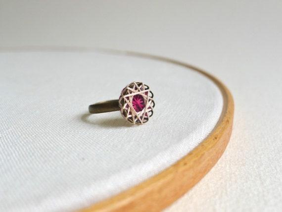 Star Cotton Thread Ring - custom color