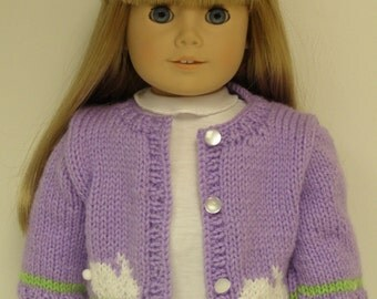 Purple Bunnie Sweater