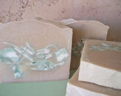 Vanilla Mint Soap with Eucalyptus, Peppermint and Spearmint Essential Oils