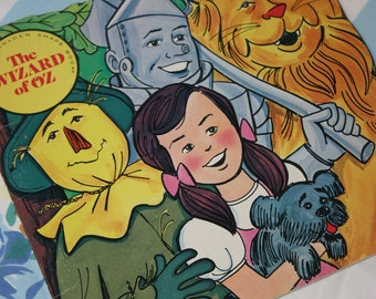 The Wizard of Oz 1976 - Golden Shape book