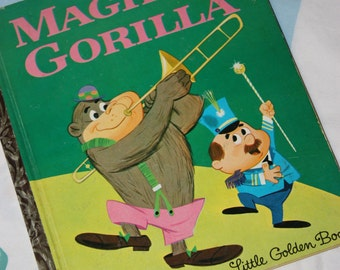 Magilla Gorilla 1964- Little Golden Book B edition