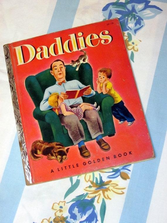 Daddies 1953 Little Golden Book 187 - A edition