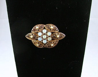 "SARAH COVENTRY ""Victorian Revival"" Brooch ca. 1972"