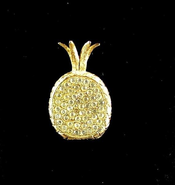 Vintage Pineapple Brooch