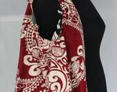 Hawaiian Reversible Large Tie Bag