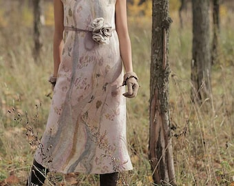 """the Template for the dress """" The Milky Rivers"""" (digital files) with instructions"""