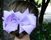 Girls hair bows, Purple hair bow, Hair bows, Hair bow, Children's bow boutique hair bows You choose color