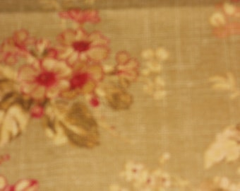"Waverly ""Cedar Grove"" in  Balsam Floral Fabric"