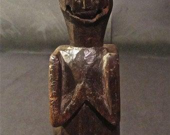 Grinning Praying Rustic Totem
