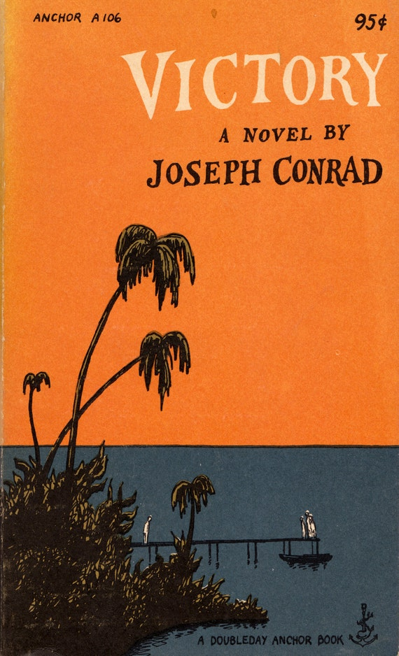 Victory by Joseph Conrad with a cover by Edward Gorey