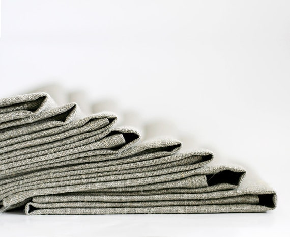 Linen napkins set - linen napkins bulk - custom wedding napkins - personalized napkins set of 16    0255