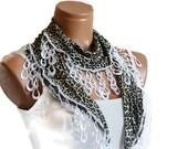 Leopard patterned woman scarf. Turkish Scarf  fabric fringed guipure .. bandana, headband, wedding, wedding dresses, authentic,