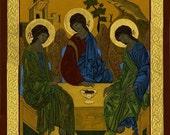 The Holy Trinity Icon (Print)