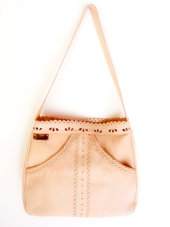 L'AMOUR. Boho leather purse / bohemian bag / tote bag / bohemian leather bag / boho shoulder bag. Available in different leather colors.