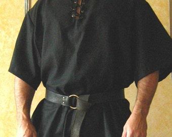 Medieval Celtic Viking Short Sleeves Shirt