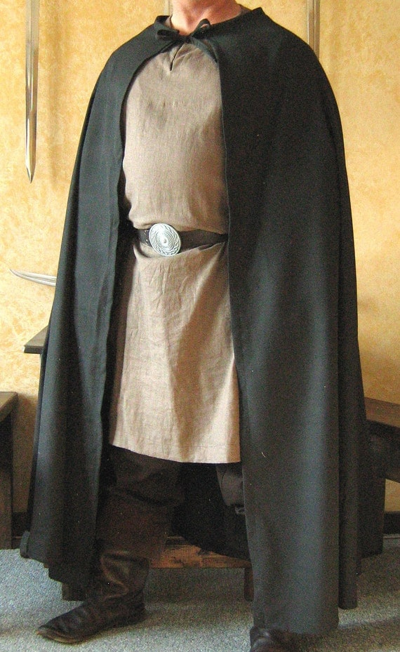 Medieval Knight Celtic Viking Cape Cloak