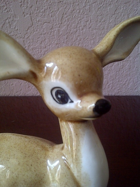 LONG EAR DEER Mother and Fawn Figurines