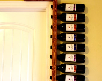 Rustic Wine Rack - Wine Rack - Wine Bottle Holder - Bridesmaid Gift - Anniversary Gift