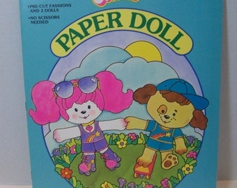 Poochie paper doll from 1983  Golden 1983-45  isbn 03350094142