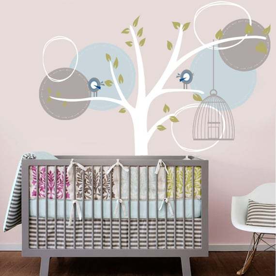 items similar to vinyl wall decal sticker whimsical tree