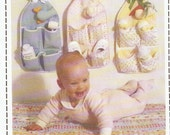 Pattern for Nursery Organizer, Holds Baby Items, Cat Dog Bunny