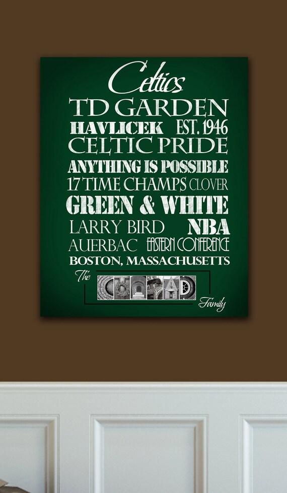 Boston Celtics: Print or Canvas
