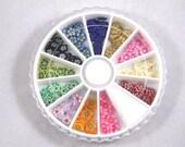Flower Fimo Cane Slice Nail Art Wheel