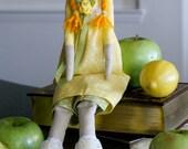 Fabric doll 'Sunny girl'